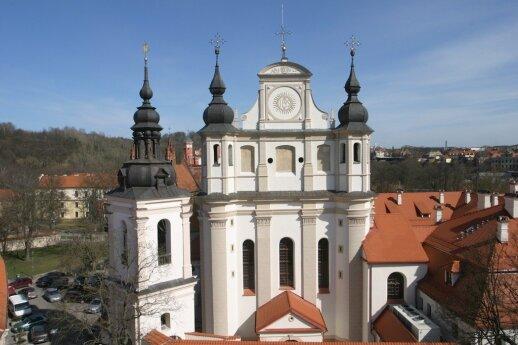 Bažnyčios fasadas po rekonstrukcijos. 2010 m.