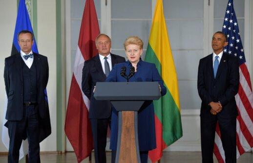 Baltijos ir JAV šalių lyderiai