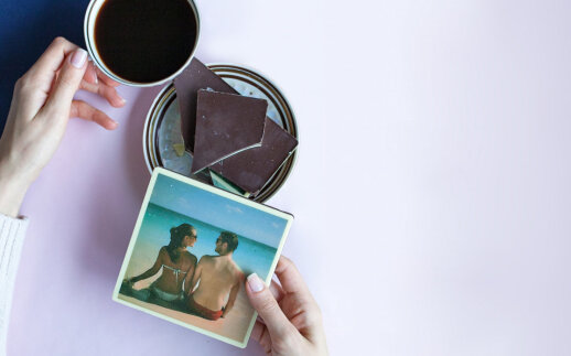 Šokoladas su nuotrauka