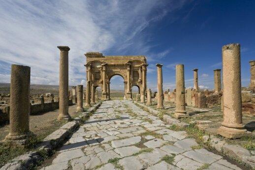 Timgadas - miestas, gyvavęs dykumoje