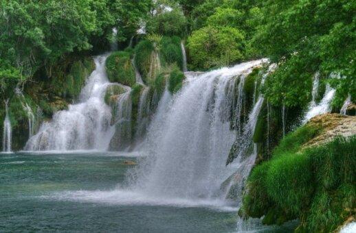Plitvicos nacionalinis parkas Kroatijoje