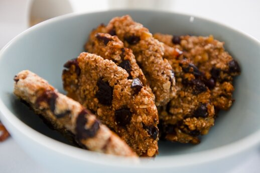 Sezamų sausainiai su razinomis