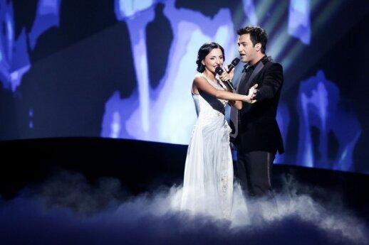 Gruzijos atstovai Nodi Tatishvili ir Sophie Gelovani