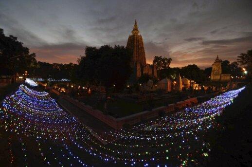 Mahabodhi šventykla Indijoje