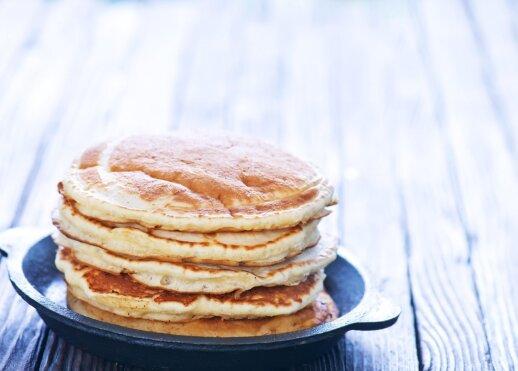 Močiutės blynų receptas: skaniau nebūna