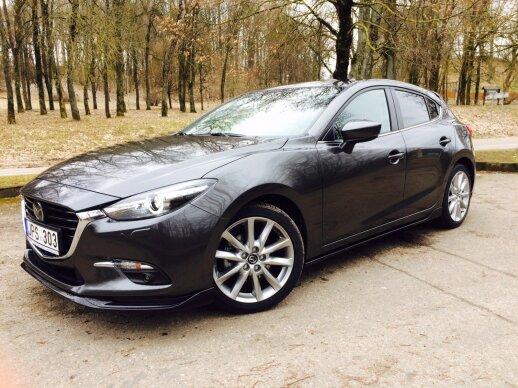 "Modernizuotas ""Mazda3"""