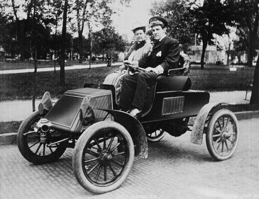 Amerikiečių pora 1902