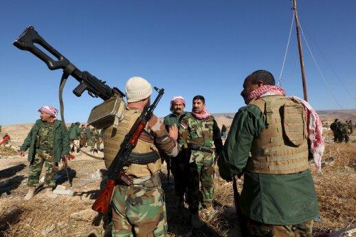 Kurdų kovotojai Sirijoje perėjo į puolimą
