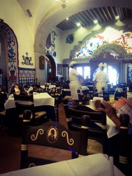 Tradicinis meksikietiškas restoranas, Zocalo