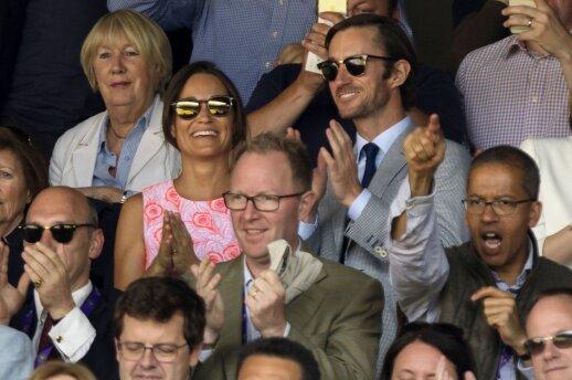 Pippa Middleton ir James Matthews