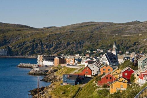 Hammerfestas, Šiaurės Norvegija