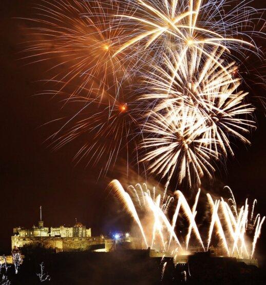 Naujieji metai Edinburge (Škotija)