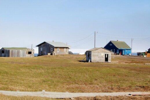 Arkties pakrantė ties Barou (Barrow), Aliaska