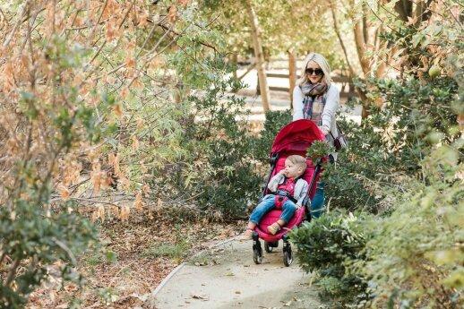 Specialisto patarimai: koks vežimėlis – pats geriausias pavasarį ir vasarą