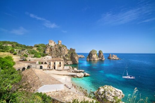Tonnara di Scopello,  Sicilija