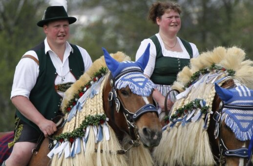Neįprasta Velykų tradicija gyvuoja Bavarijos Traunšteino miestelyje