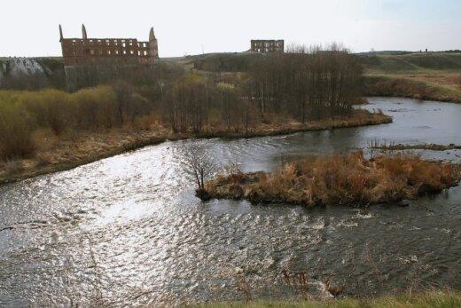 Užteršta upė Rusijoje