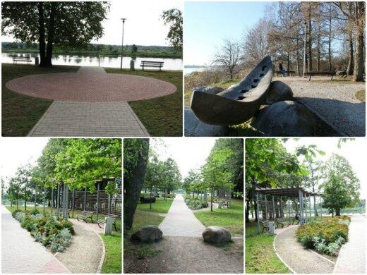 Smalininkų parko infrastruktūros įrengimas Smalininkų mieste