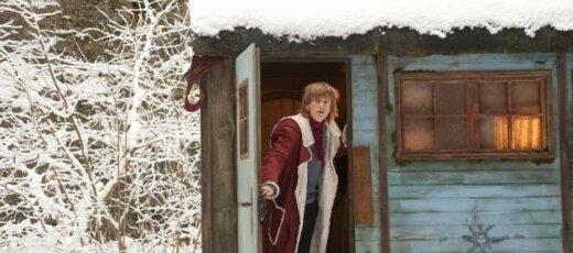 """Kadras iš filmo """"Kai Kalėdų senelis nukrito į Žemę..."""""""