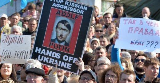 Ar teisinga lyginti V. Putiną ir A. Hitlerį?