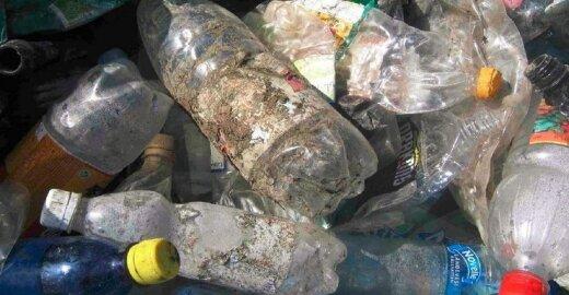 Plastikas iš rūšiavimo konteinerių