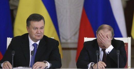 Viktoras Janukovyčius ir Vladimiras Putinas
