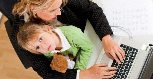 Kodėl dirbančios europietės geresnės motinos nei amerikietės?