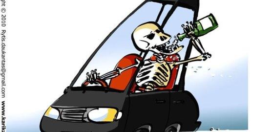 Europiečiai: girtas vairuotojas – blogiausia, kas gali būti