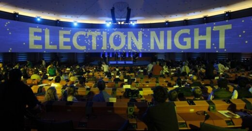 Jau aišku, kas laimės Europos Parlamento rinkimus?