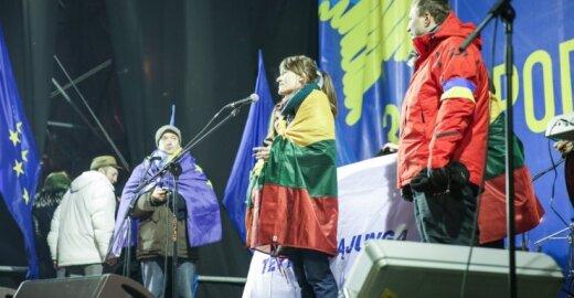 R. Morkūnaitė-Mikulėnienė apsilankė EuroMaidane