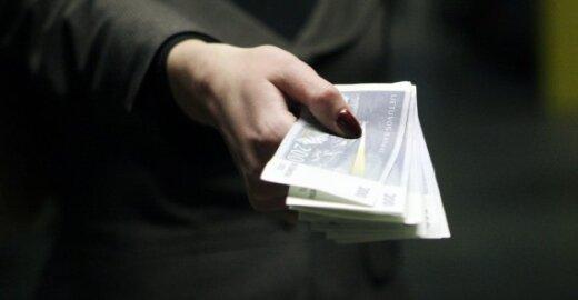 Lietuva – ES rekordininkė: 34 proc. gyventojų sako davę kyšį per pastaruosius 12 mėnesių