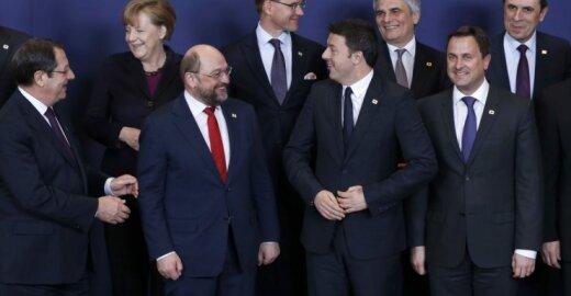 Po Krymo aneksijos EP pirmininkas perspėjo apie pavojų Europoje