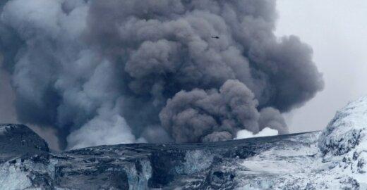 ES ministrų susitikimą dėl oro transporto gali sutrikdyti naujas vulkaninių pelenų pliūpsnis Islandijoje
