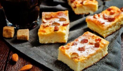 Itališkas rikotos ir migdolų pyragas