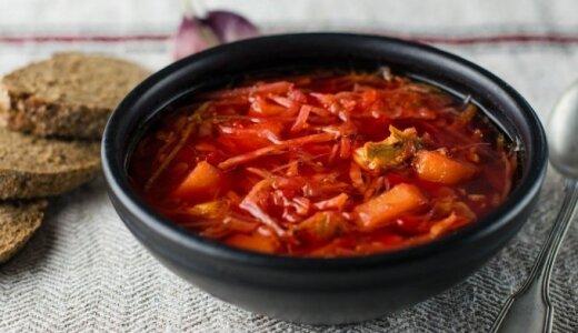 Pati skaniausia burokėlių sriuba