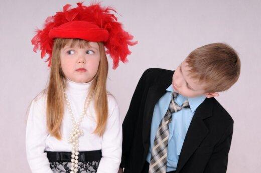 Ar daugėjant sunkiai auklėjamų vaikų išnyks tradiciniai lyčių vaidmenys?