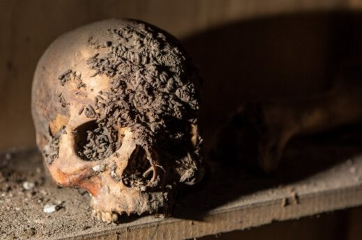 National Geographic nuotraukų galerija apie mumijų tyrimus Lietuvoje