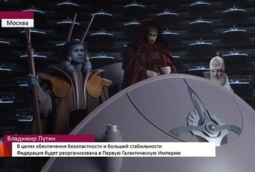 Putino karikatūros yra uždraustos Rusijoje, o ypač šitos devynios karikatūros