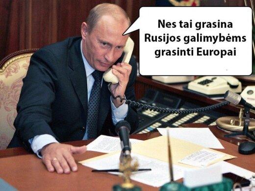 Susipažinkite su Vladimiro Putino logika