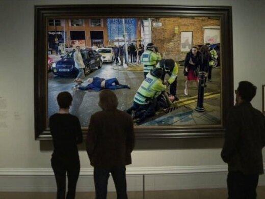 Naujųjų metų sutikimo beprotybę Mančesteryje internautai pavertė tikru renesanso meno kūriniu