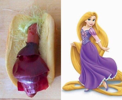 Jei Disnėjaus princesės būtų dešrainiai