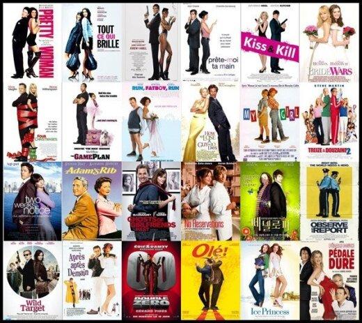 6 nuvalkiotos klišės, nuolat naudojamos kino filmų plakatuose
