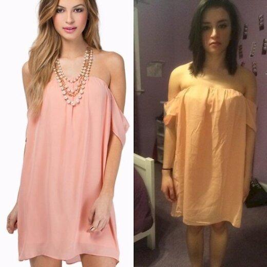 9 merginos, kurios labai pasigailėjo nepasimatavusios suknelių prieš jas nusiperkant