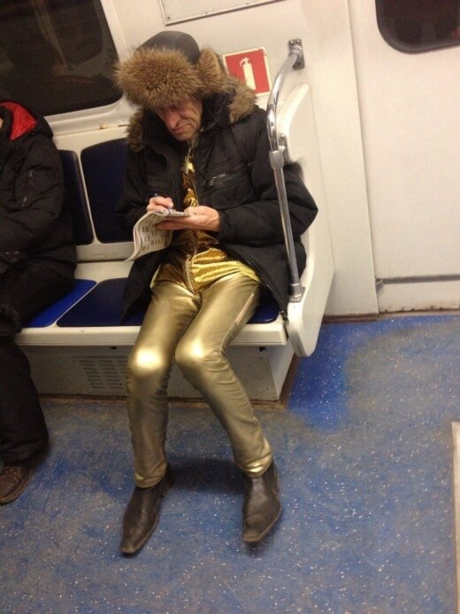 Didžiausios keistenybės iš Rusijos metro