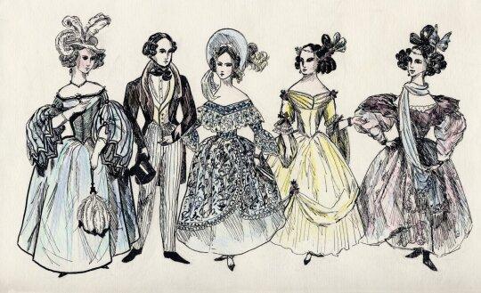 Damos XVIII amžiuje