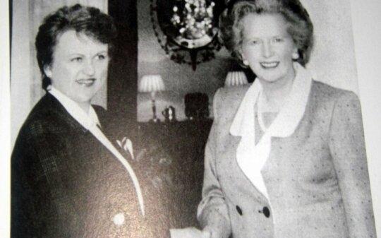 K. Prunskienė ir M. Thatcher