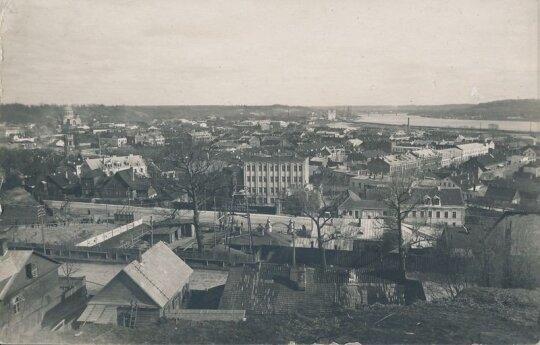 Kauno miesto panorama nuo Žaliaklnio pusės // Kauno miesto muziejaus nuotr.