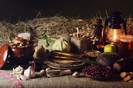 Tradicinis baltų šventinis maistas