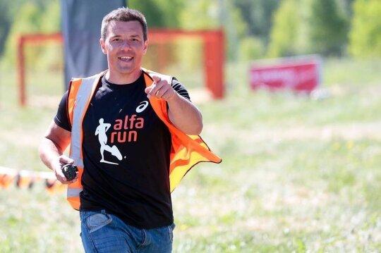 Vladislavas Pocius, bėgimo su kliūtimis varžybos Alfa run