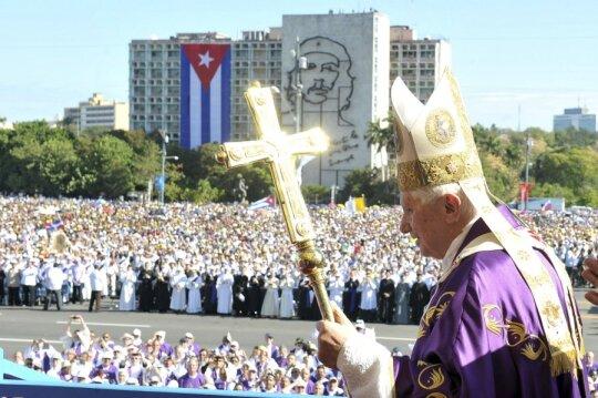 Popiežius Benedictas XVI Kuboje